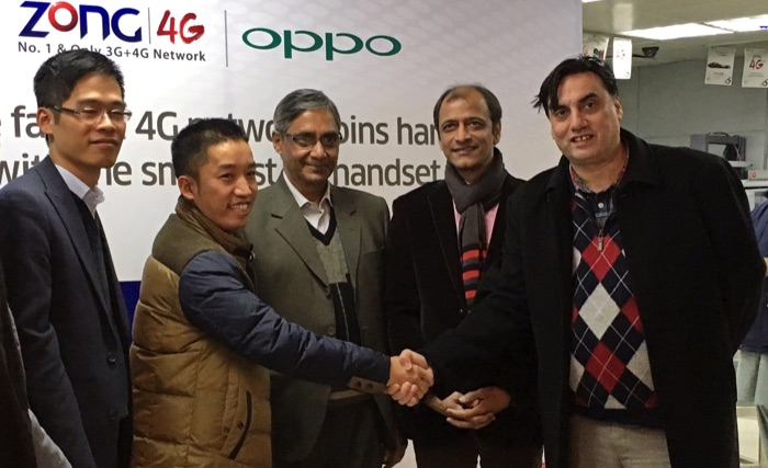 Zong-collaborates-Oppo-Smartphones