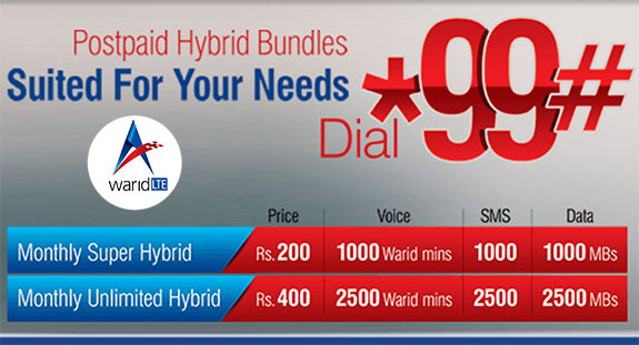 warid-super-unlimited-hybrid-bundles-for-postpaid-customers