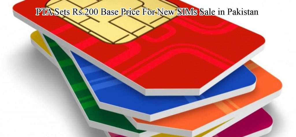PTA-Sets-Base-Price-of-200Rs-of-New-SIMs-in-Pakistan