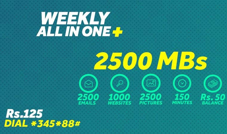 Djuice Weekly Internet Plus Offer