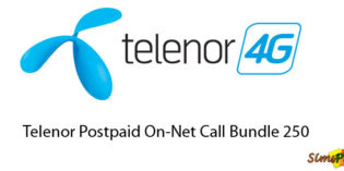 Telenor Postpaid On-Net Call Bundle 250