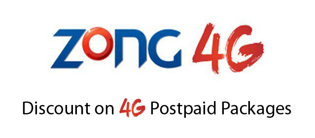 Zong-Discount-on-4G-Postpaid