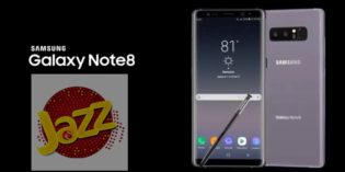 Jazz Partners Samsung to Launch Galaxy Note 8 in Pakistan