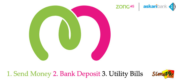 Zong PayMax Money Transfer, Account Transfer and Pay Bills