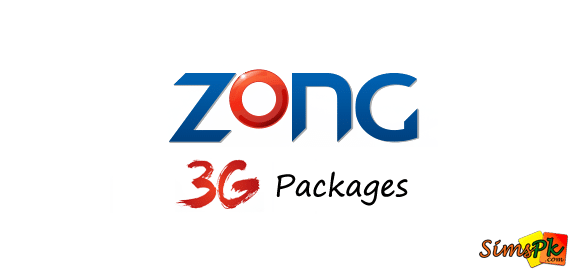 Zong 3G Internet Packages