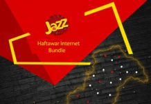 Jazz Haftawar Super Internet Offer