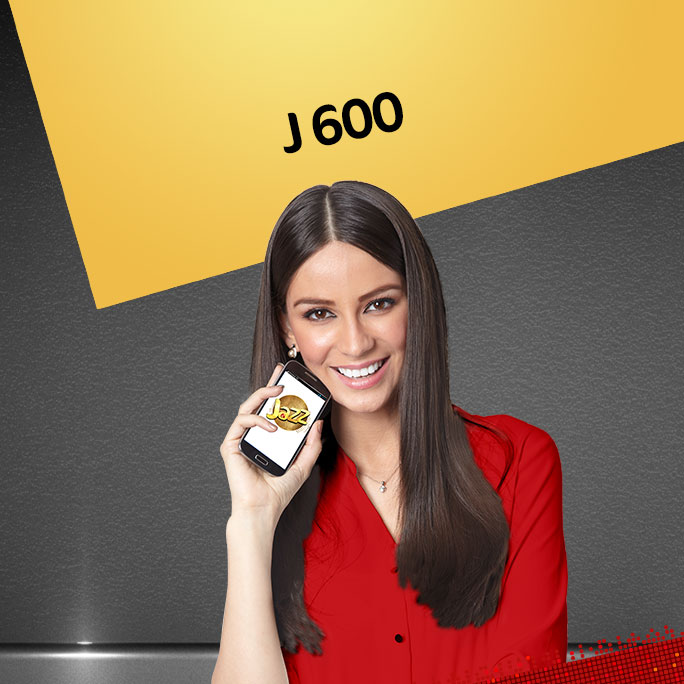Jazz J600 Postpaid Package for Calls, SMS and Data