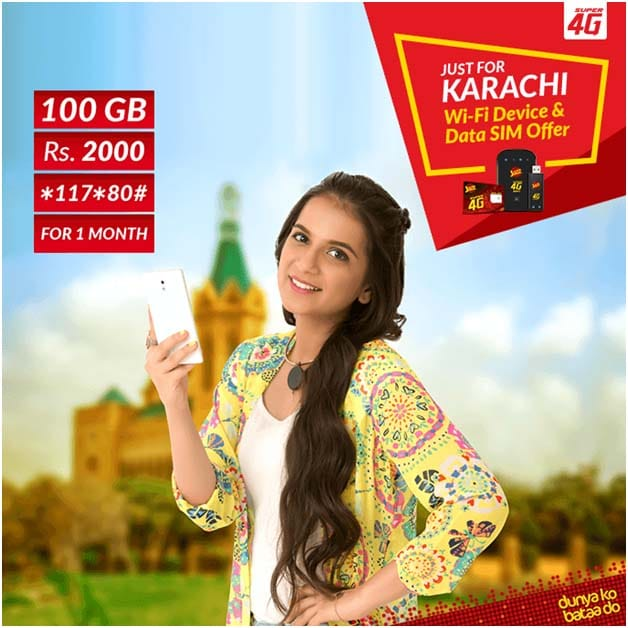 Jazz-100-GB-Karachi-only-offer