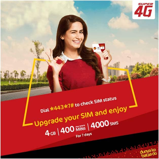 Jazz-New-2018-4G-Sim-Offer