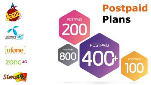 Postpaid Packages by Cellular Operators