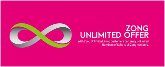 Zong Monthly Unlimited Call Offer